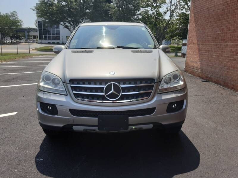 2007 Mercedes-Benz M-Class for sale at Fredericksburg Auto Finance Inc. in Fredericksburg VA