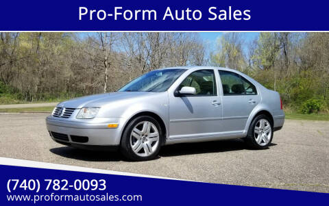 2003 Volkswagen Jetta for sale at Pro-Form Auto Sales in Belmont OH