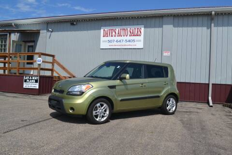 2011 Kia Soul for sale at Dave's Auto Sales in Winthrop MN