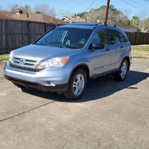 2010 Honda CR-V for sale at MOTORSPORTS IMPORTS in Houston TX