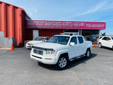 2007 Honda Ridgeline for sale at LUXURY IMPORTS AUTO SALES INC in North Branch MN
