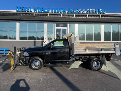 2018 RAM Ram Chassis 3500 for sale at Diesel World Truck Sales - Dump Truck in Plaistow NH