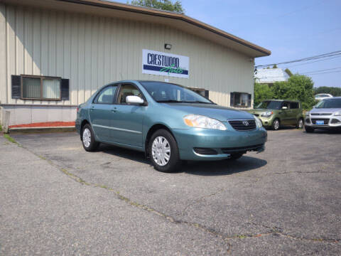 2005 Toyota Corolla for sale at Crestwood Auto Sales in Swansea MA