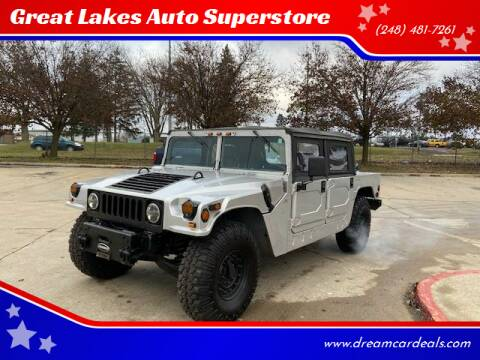 1993 HUMMER H1 for sale at Great Lakes Auto Superstore in Pontiac MI