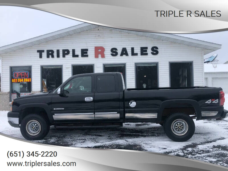 2003 Chevrolet Silverado 2500HD for sale at Triple R Sales in Lake City MN