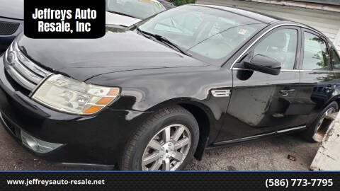 2008 Ford Taurus for sale at Jeffreys Auto Resale, Inc in Clinton Township MI