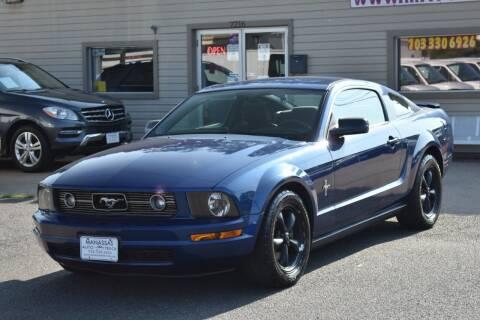 2007 Ford Mustang for sale at MANASSAS AUTO TRUCK in Manassas VA