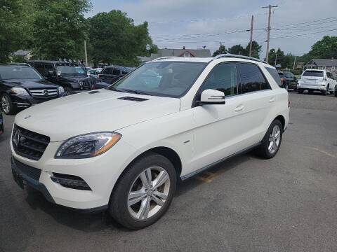 2012 Mercedes-Benz M-Class for sale at Top Quality Auto Sales in Westport MA