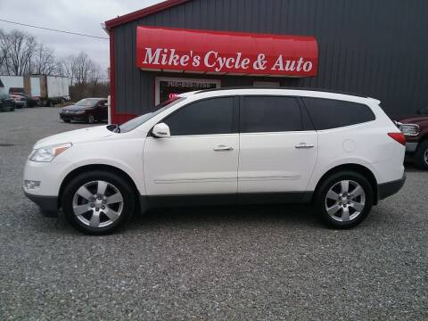 2012 Chevrolet Traverse for sale at MIKE'S CYCLE & AUTO in Connersville IN