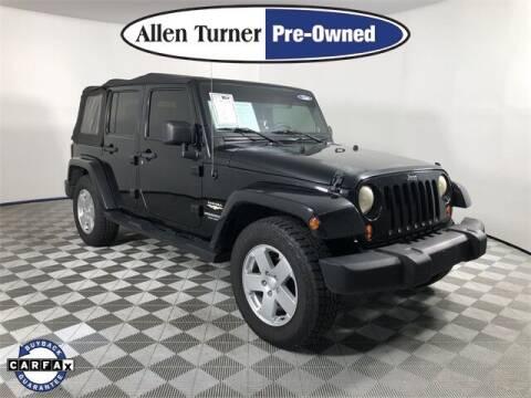2007 Jeep Wrangler Unlimited for sale at Allen Turner Hyundai in Pensacola FL