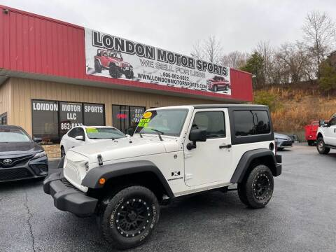 2009 Jeep Wrangler for sale at London Motor Sports, LLC in London KY