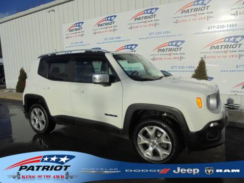 2016 Jeep Renegade for sale at PATRIOT CHRYSLER DODGE JEEP RAM in Oakland MD