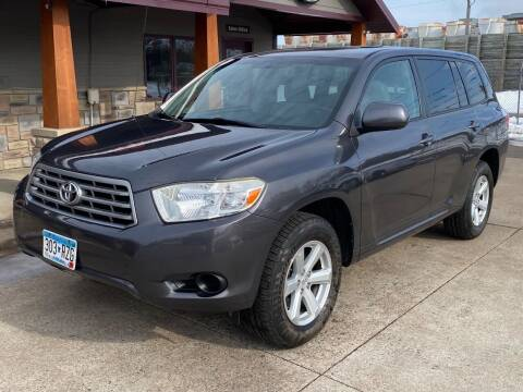 2008 Toyota Highlander for sale at Affordable Auto Sales in Cambridge MN