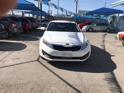 2012 Kia Optima for sale at Autos Montes in Socorro TX