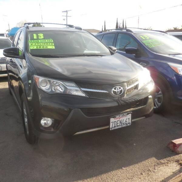 2013 Toyota RAV4 for sale at Luxor Motors Inc in Pacoima CA