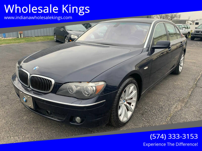 2007 BMW 7 Series for sale at Wholesale Kings in Elkhart IN