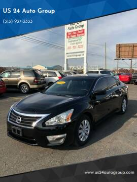 2013 Nissan Altima for sale at US 24 Auto Group in Redford MI