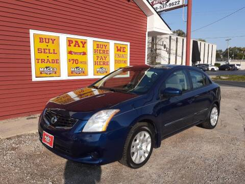 2012 Nissan Sentra for sale at Mack's Autoworld in Toledo OH