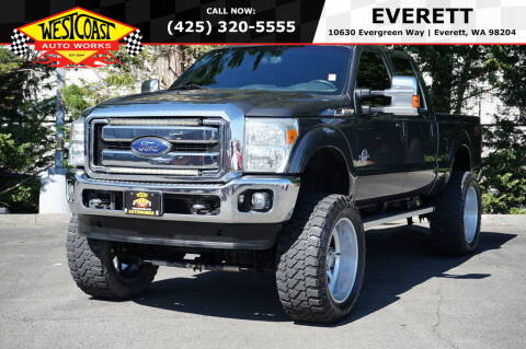 2015 Ford F-250 Super Duty for sale at West Coast Auto Works in Edmonds WA