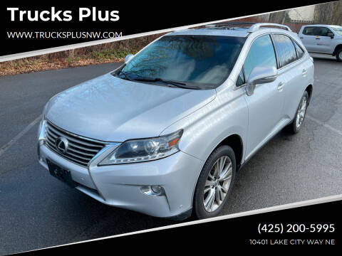 2013 Lexus RX 350 for sale at Trucks Plus in Seattle WA