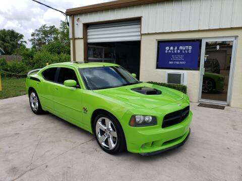2007 Dodge Charger for sale at O & J Auto Sales in Royal Palm Beach FL
