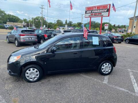2009 Chevrolet Aveo for sale at Christy Motors in Crystal MN
