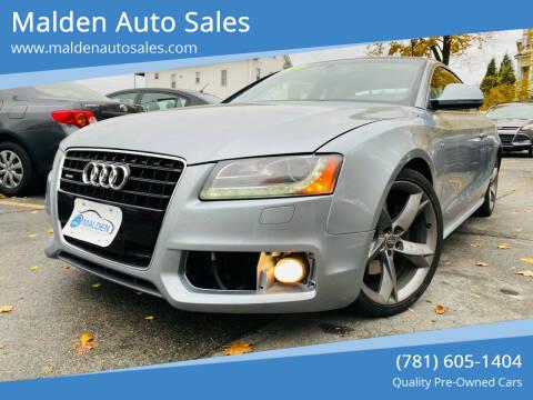 2009 Audi A5 for sale at Malden Auto Sales in Malden MA