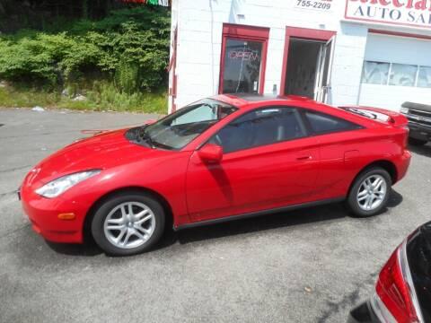 2000 Toyota Celica for sale at Ricciardi Auto Sales in Waterbury CT