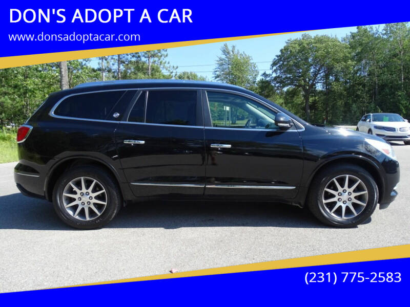 2016 Buick Enclave for sale at DON'S ADOPT A CAR in Cadillac MI