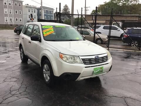 2009 Subaru Forester for sale at Adams Street Motor Company LLC in Boston MA