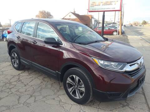 2019 Honda CR-V for sale at Sunset Auto Body in Sunset UT