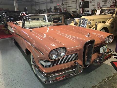 1958 Edsel Pacer for sale at Berliner Classic Motorcars Inc in Dania Beach FL