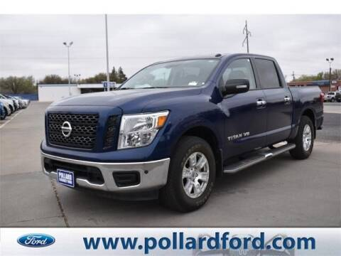 2019 Nissan Titan for sale at South Plains Autoplex by RANDY BUCHANAN in Lubbock TX