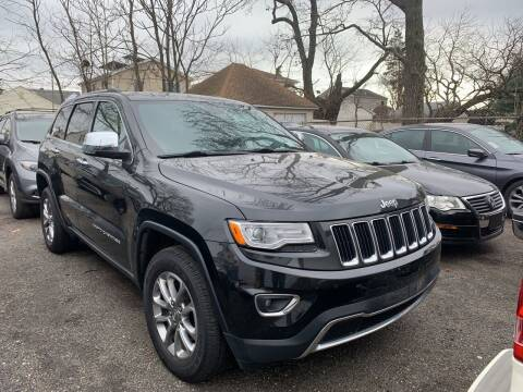 2015 Jeep Grand Cherokee for sale at Charles and Son Auto Sales in Totowa NJ