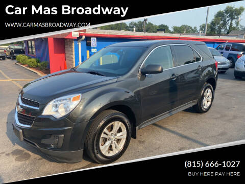 2014 Chevrolet Equinox for sale at Car Mas Broadway in Crest Hill IL