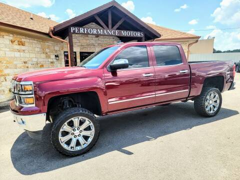 2015 Chevrolet Silverado 1500 for sale at Performance Motors Killeen Second Chance in Killeen TX