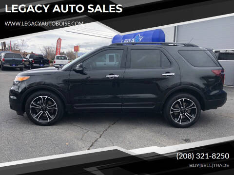 2013 Ford Explorer for sale at LEGACY AUTO SALES in Boise ID