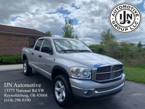 2007 Dodge Ram Pickup 1500 for sale at IJN Automotive Group LLC in Reynoldsburg OH