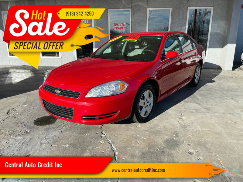 2010 Chevrolet Impala for sale at Central Auto Credit Inc in Kansas City KS