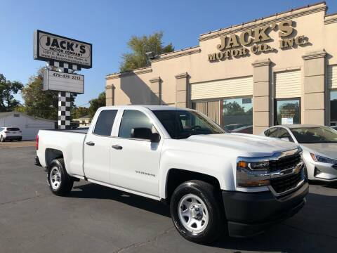 2018 Chevrolet Silverado 1500 for sale at JACK'S MOTOR COMPANY in Van Buren AR