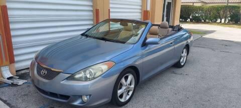 2006 Toyota Camry Solara for sale at Cad Auto Sales Inc in Miami FL