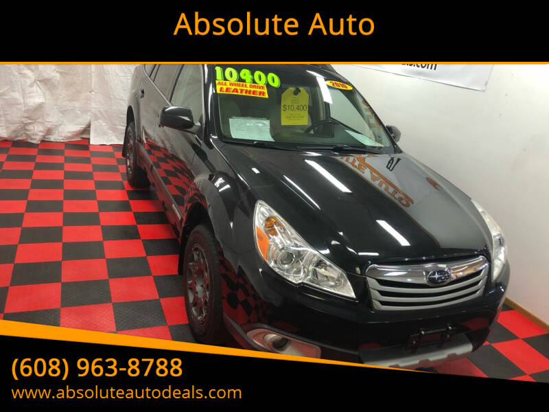 2010 Subaru Outback for sale at Absolute Auto in Baraboo WI