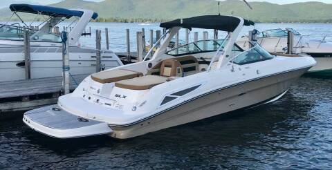 2014 Sea Ray 300 SLX for sale at R & R Motors in Queensbury NY