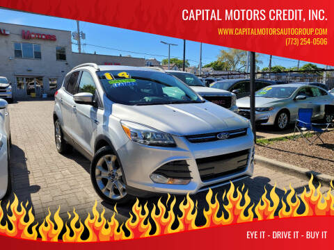 2014 Ford Escape for sale at Capital Motors Credit, Inc. in Chicago IL