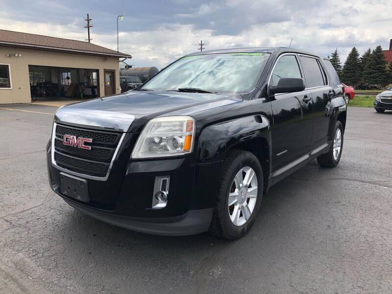2011 GMC Terrain for sale at Mike's Budget Auto Sales in Cadillac MI