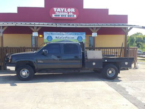 2004 Chevrolet Silverado 3500 for sale at Taylor Trading Co in Beaumont TX