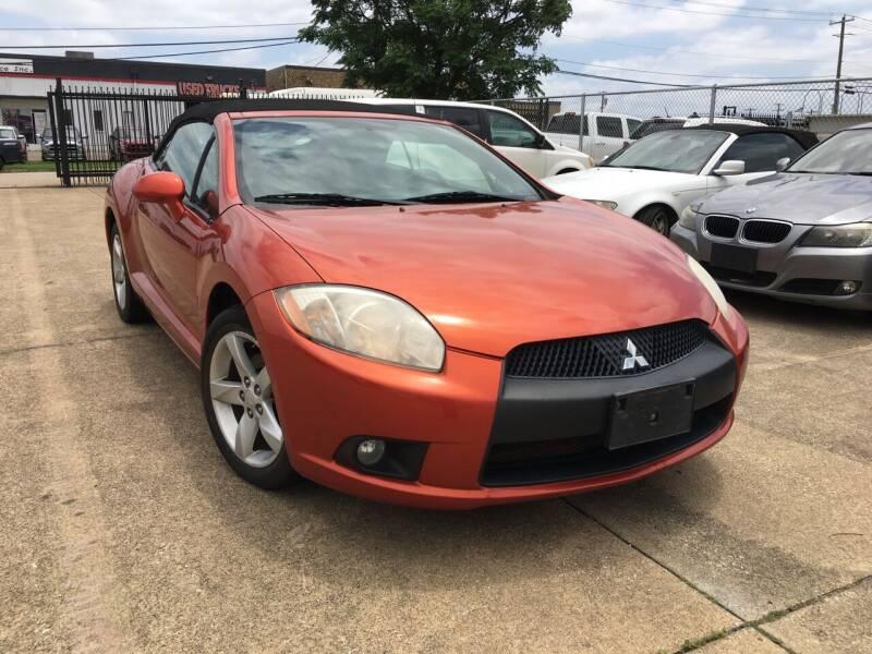 2010 Mitsubishi Eclipse Spyder for sale at TETCO AUTO SALES  / TETCO FUNDING in Dallas TX