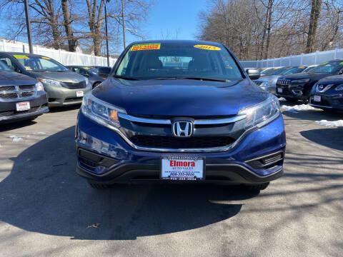 2015 Honda CR-V for sale at Elmora Auto Sales in Elizabeth NJ