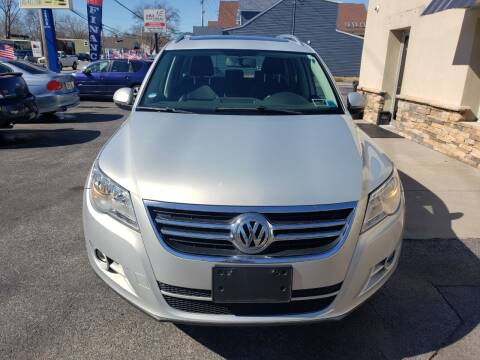2011 Volkswagen Tiguan for sale at Marley's Auto Sales in Pasadena MD
