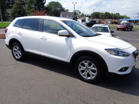 2015 Mazda CX-9 for sale at BETTER BUYS AUTO INC in East Windsor CT